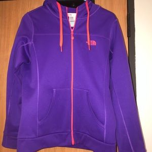 North Face Full-Zip Hoodie Size M
